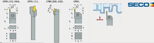 MDT - Külső kések, rövid kinyúlással - CFIR-L