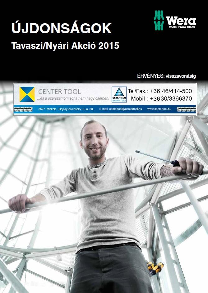 Center Tool Wera 2015 tavasz/nyár