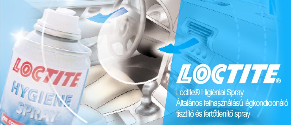 Loctite® Higiéniai Spray- Tisztító és fertőtlenítő spray
